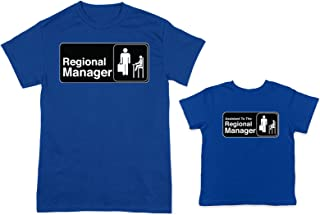HAASE UNLIMITED Regional Manager/Assistant 2-Pack Toddler & Men's T-Shirt