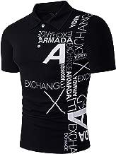 Sportides Mens Casual Denim Stitching Pocket Polo Shirt Short Sleeve T-Shirt Tops JZA008