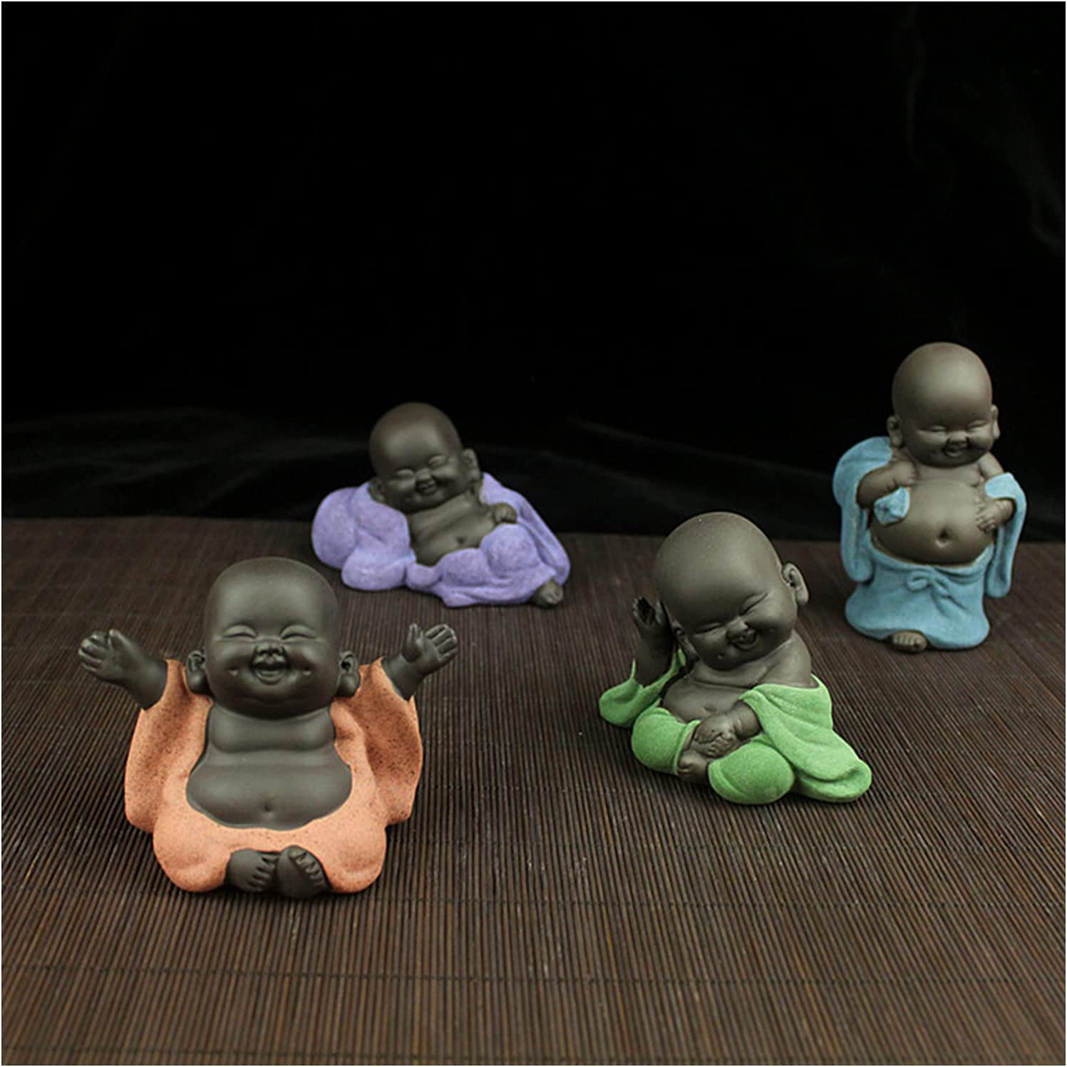 shipfree MOZHIXUE Laughing Buddha Statue Max 66% OFF Garden Pieces St 4