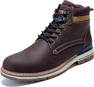 Men's Causal Oxford Dress Boot, Arkbird Matte Leather...