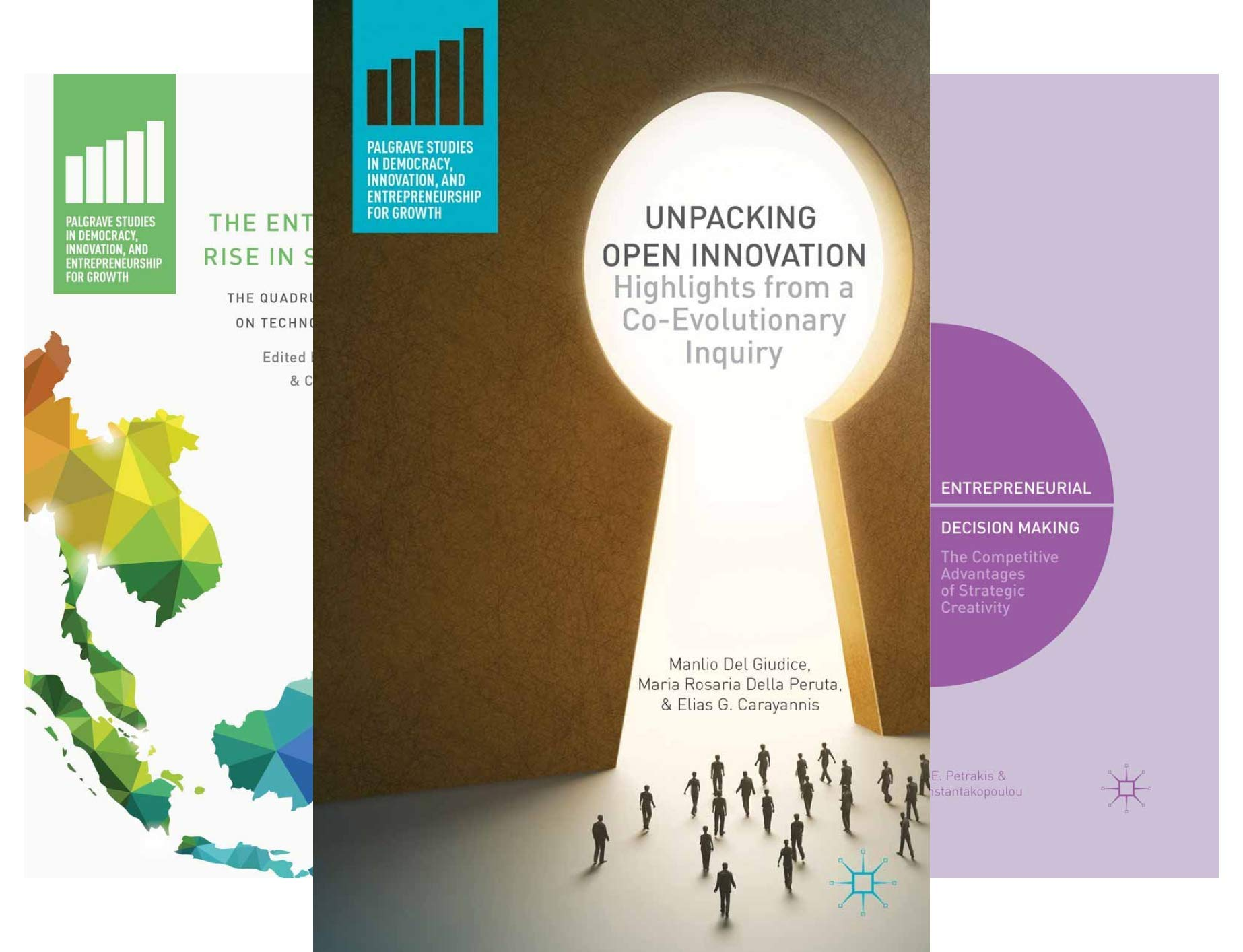 Palgrave Studies in Democracy, Innovation, and Entrepreneurship for Growth (16 Book Series)