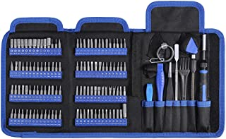 ORIA Precision Screwdriver Kit, 126 in 1 Screwdriver Set, Magnetic Driver Kit for Mobile Phone, Smartphone, Game Console, Tablet, PC