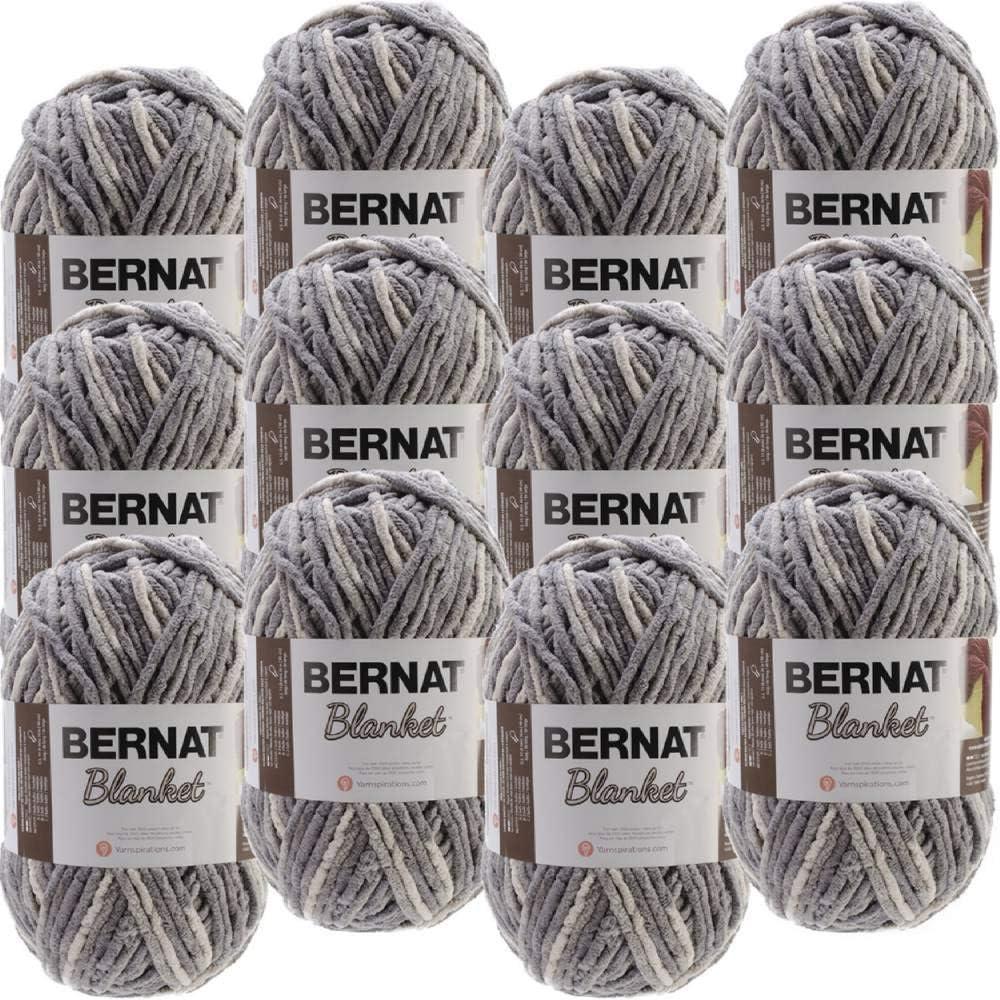 Bernat Silver Steel Blanket Big Yarn Regular discount of Ball half Multipack 12