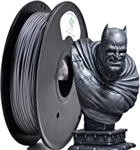 YOYI Metal 3D Printer Filament 1.75mm 0.5kg Spool, 100% Virgin Raw Material, Dimensional Accuracy +/- 0.03 mm (Metal Silver)