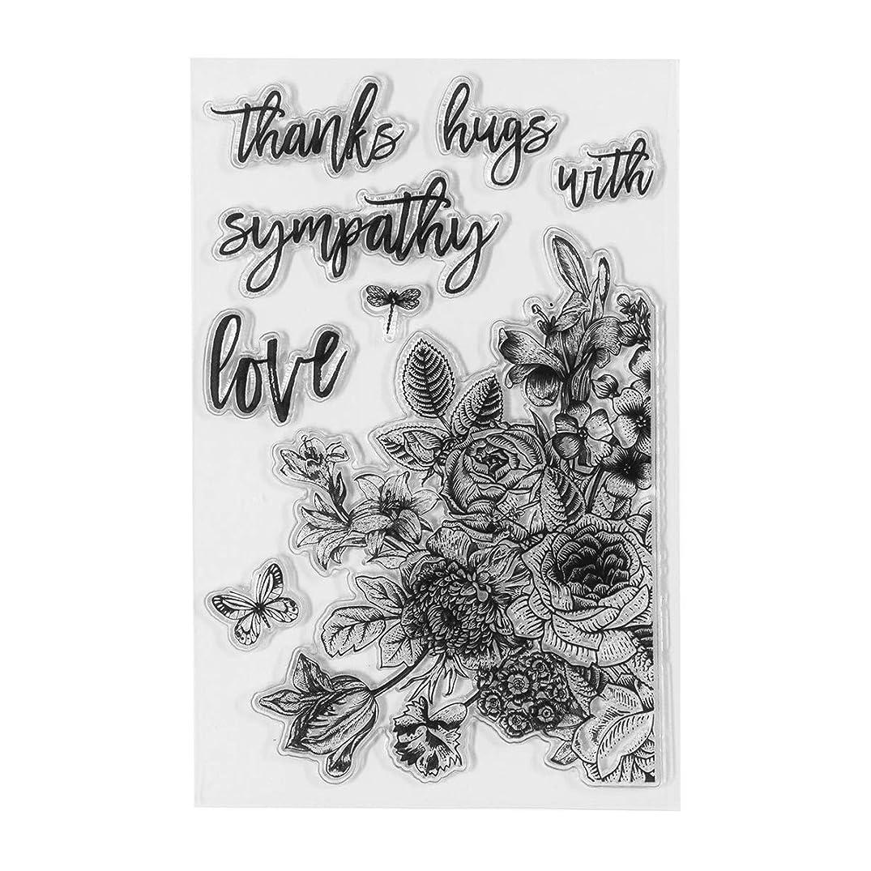 Spellbinders STP-012 Clear Stamps Floral Love