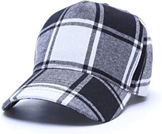 25386fa6ca3 WUKE Plaid Adjustable Sports Caps Autumn Outdoor Men Gorras para Hombre  Snapback Men Hats Women Baseball
