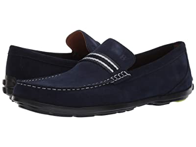 Bostonian Grafton Driver (Navy Suede) Men