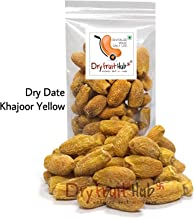 Dry Fruit Hub Deluxe Dates Dry Kharik Natural (Khajoor) Yellow - Pack of 400 Grams (14.0 Oz )
