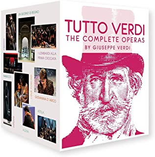 Tutto Verdi - The Complete Operas [Blu-ray]