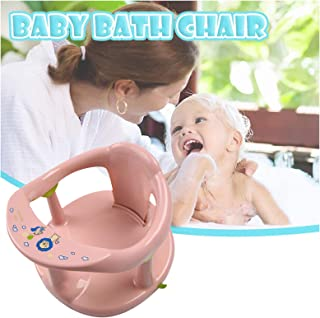 6-24 Months Infant Baby Bathing Tubs Seats, Non-Slip Bathtub Double-Layer Support Ring, Newborn Baby Shower Chair, Surroun...