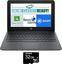 """2020 Newest HP Chromebook 11.6"""" HD Laptop for business and student, Intel Celeron N3350, 4GB Memory, 32GB eMMC Flash Memor..."""