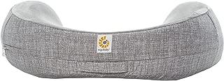 Natural Curve Nursing Pillow Cover - Heathered Grey