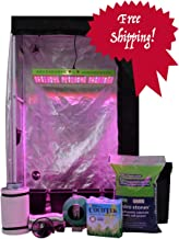 Dealzer Oasis 2'x4'x6.5' - 4 Plant LED Hydroponics Grow Tent System