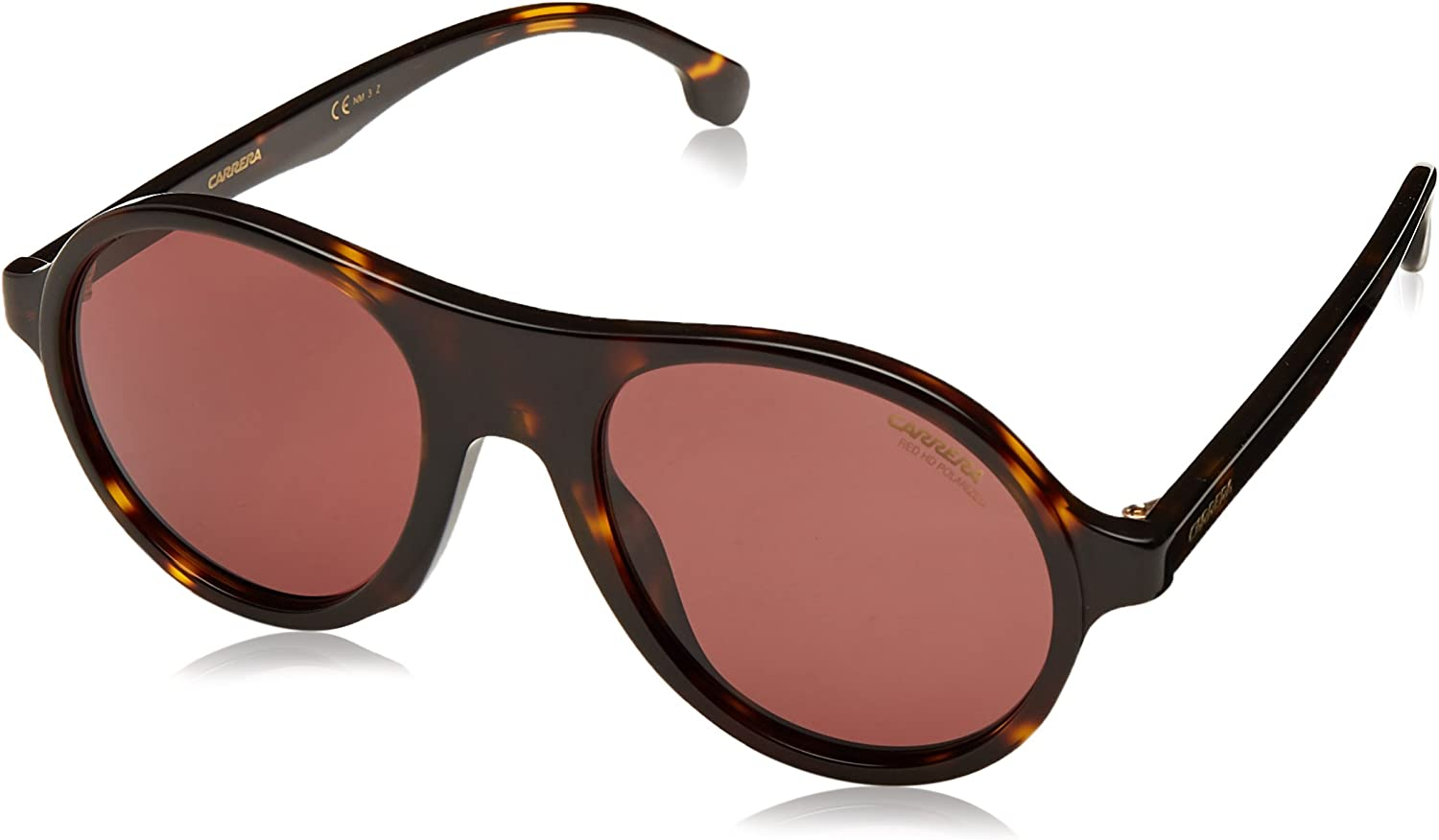 Carrera 142 s Polarized Round Sunglasses DKHAVANA 50 mm