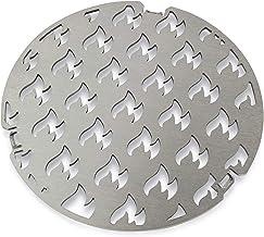 Edelstahl Grill-Einsatz Durchmesser 20 passend für die Grillrost.com Feuerplatten | Grillring | Plancha