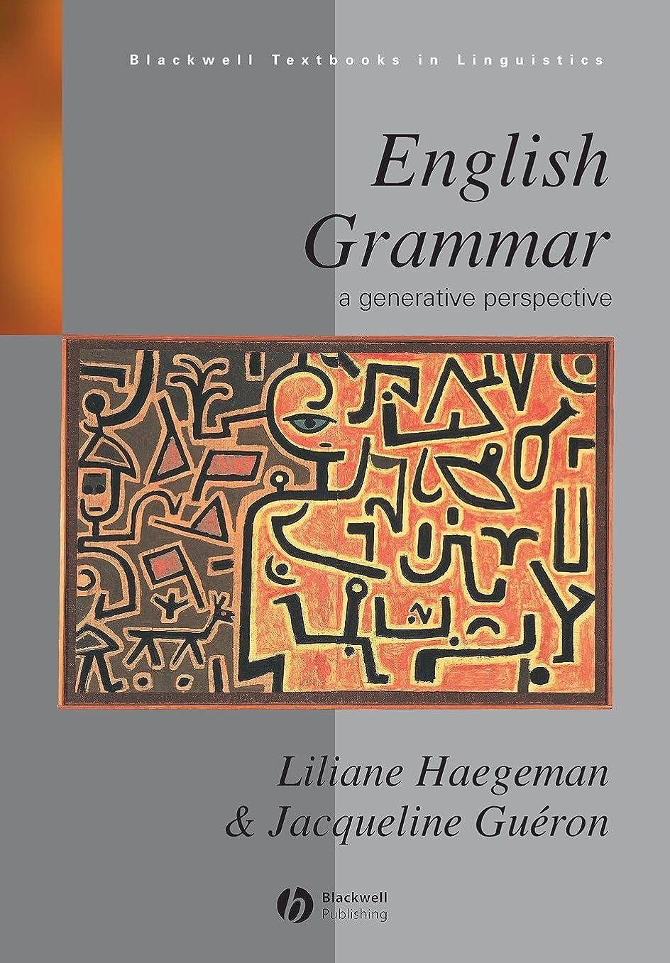パン圧倒する類似性English Grammar: A Generative Perspective (Blackwell Textbooks in Linguistics)