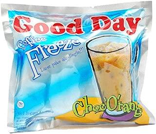 Good Day Freeze Choc Orange Coffee 300 Gram (10.58 Oz) Instant Coffee 10-ct @ 30 Gram (Pack of 2)