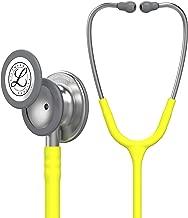 3M Littmann Classic III Monitoring Stethoscope, Lemon-Lime Tube, 27 inch, 5839