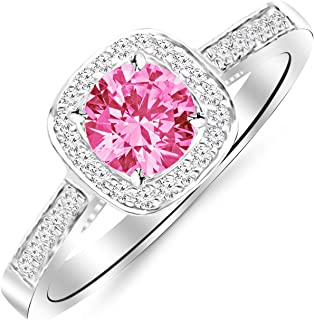 Best sapphire and diamond halo ring Reviews