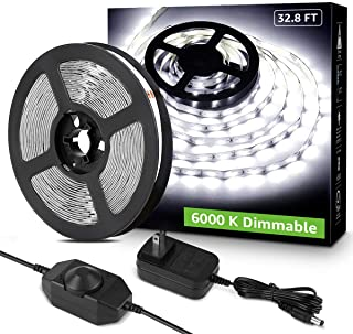 Lepro LED Strip Light, 32.8Ft Dimmable Vanity Lights,...