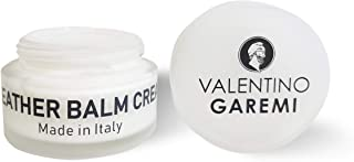 Valentino Garemi Leather Balm Cream – Made in Italy - Luxury Condition and Nourish Lotion for Designer fine high-end Purse Shoes Handbags Wallets Belts Accessories