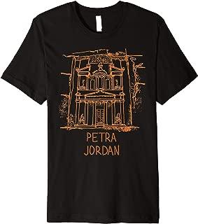 Petra Jordan T-shirt Tee T Shirt Tshirt Premium T-Shirt