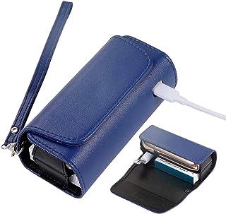 ZITFRI Custodia Protettiva per Sigarette Elettroniche, Compatibile con Iqos 3 e Iqos 3 Duo, Astuccio in Tela e Pelle PU, I...