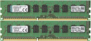Kingston KVR1333D3E9SK2/16G DDR3-1333 16GB(2X 8GB) 1Gx72 ECC CL9 Server Memory Kit