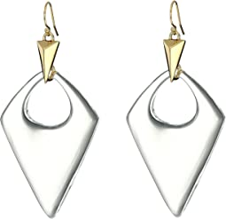 Alexis Bittar Pointed Pyramid Drop Earrings