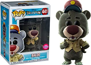Pop Tale Spin: Flocked Baloo Collectible Figure, Multicolor