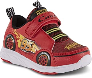 Disney Toddler Boys' Cars Lightning McQueen Sneaker/Athletic Shoe Light-Up