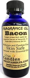 Bacon 4oz / 118.29 ml Glass Bottle of Skin Safe Fragrance Oil, Candles, soap & More