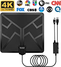 HDTV Antenna - 2019 Upgraded 120 Miles Digital HD Indoor TV Antenna Amplified High Definition Digital TV Antennas Amplified Signal Booster Support 4K 1080P UHF VHF Channels