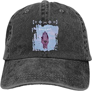 Zlizhi Porter Robinson Worlds Men Women Plain Cotton Adjustable Washed Twill Low Profile Baseball Cap Hat