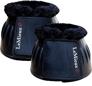 Lemieux Rubber Bell Boots With Fleece - Black - Medium