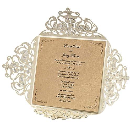 Affordable Wedding Invitations Amazon Co Uk