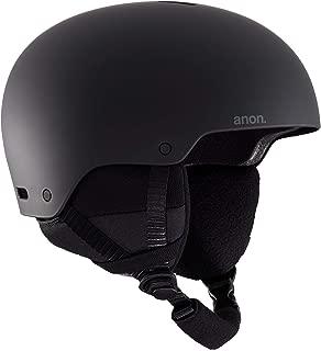 Anon Men's Raider 3 Helmet Asian Fit, Black, Large