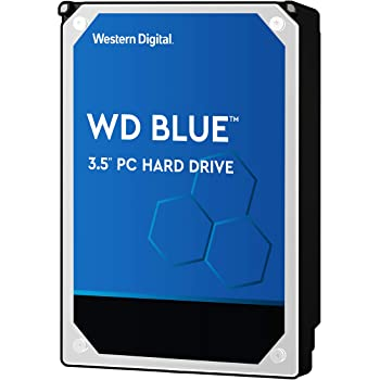 "Western Digital 4TB WD Blue PC Hard Drive - 5400 RPM Class, SATA 6 Gb/s, , 64 MB Cache, 3.5"" - WD40EZRZ"