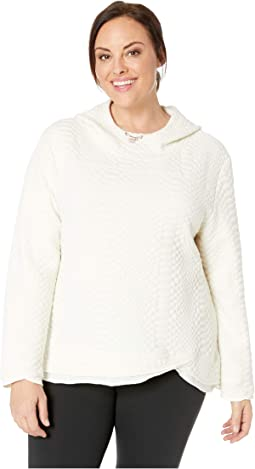 Plus Size Restore Hooded Sweatshirt