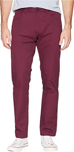 Four-Pocket Slim Sateen Pants