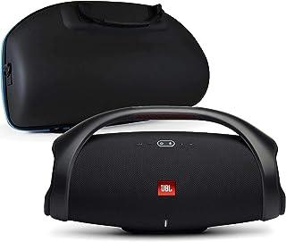 JBL Boombox 2 Waterproof Portable Bluetooth Speaker Bundle with divvi! Hardshell Case - Black
