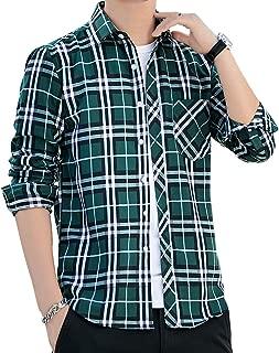 チェックシャツ メンズ 長袖 通勤 秋 カジュアル 冬 通学 薄手 大きいサイズ