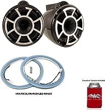 Wet Sounds REV 10 X Mount Tower Speakers with LEDKITREV10-RGB RGB LED Speaker Rings