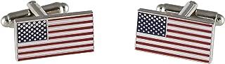 Official American Flag Cufflinks