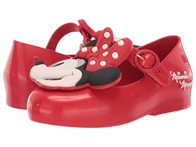 Mini Melissa Sweet Love + Minnie BB (Toddler/Little Kid) (Red) Girl