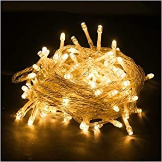 ASKLKD LED Chaîne 8 Modes d'éclairage 10M-200M intérieur et extérieur Jardin Terrasse Guirlande Lumineuse/fête d'anniversa...