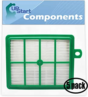 UpStart Battery 5-Pack Replacement for Electrolux EL4335A UltraFlex Vacuum HEPA Filter - Compatible with Electrolux EL012B HEPA Filter