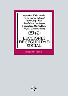 Lecciones de Seguridad Social (Derecho - Biblioteca Universitaria de Editorial Tecnos)