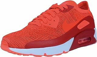 AIR MAX 90 Ultra 2.0 Flyknit Crimson RED White Mens Running 875943 600