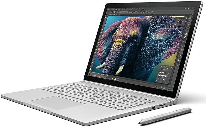 Microsoft Surface Book 34 29 cm 13 5 Zoll Laptop Intel Core i7 6 Generation 8GB RAM 256GB SSD Intel HD NVIDIA GeForce Win10 Pro Schätzpreis : 949,95 €